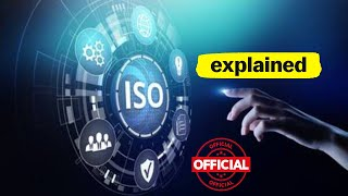 ISO | What is ISO | ISO Meaning | ISO Certification | ISO Organization | Tutorial