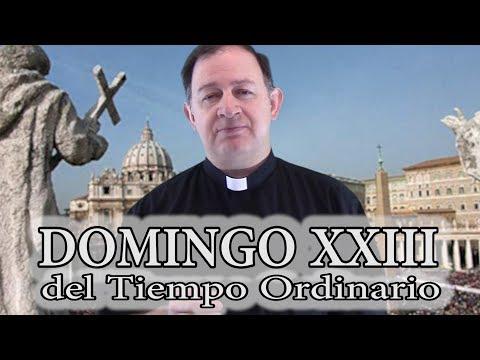 Domingo XXIII del Tiempo Ordinario - Ciclo C - Que tome su cruz y me siga