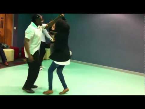 University of Bradford Africa Arts Society - Intermediate Salsa Armoul Stoute & Fay☆