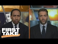 Who Looks Worse: Charles Oakley or the New York Knicks?   First Take   February 9, 2017