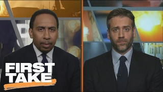 Who Looks Worse: Charles Oakley or the New York Knicks? | First Take | February 9, 2017