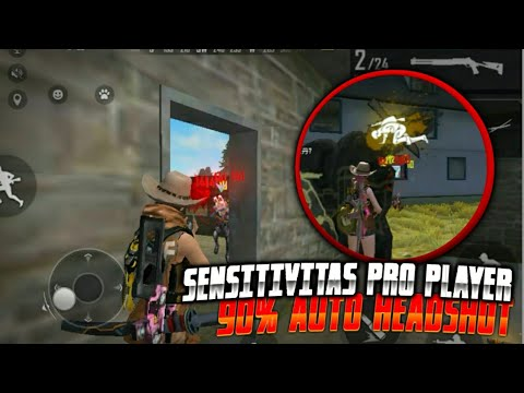 Sensitivitas Pro Player,IMAD GAN 90% auto headshot-FREE FIRE