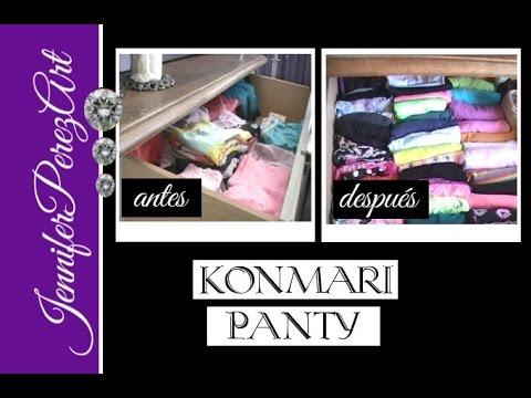 M todo konmari para doblar ropa panti pantaletas ropa - Metodo konmari ropa ...