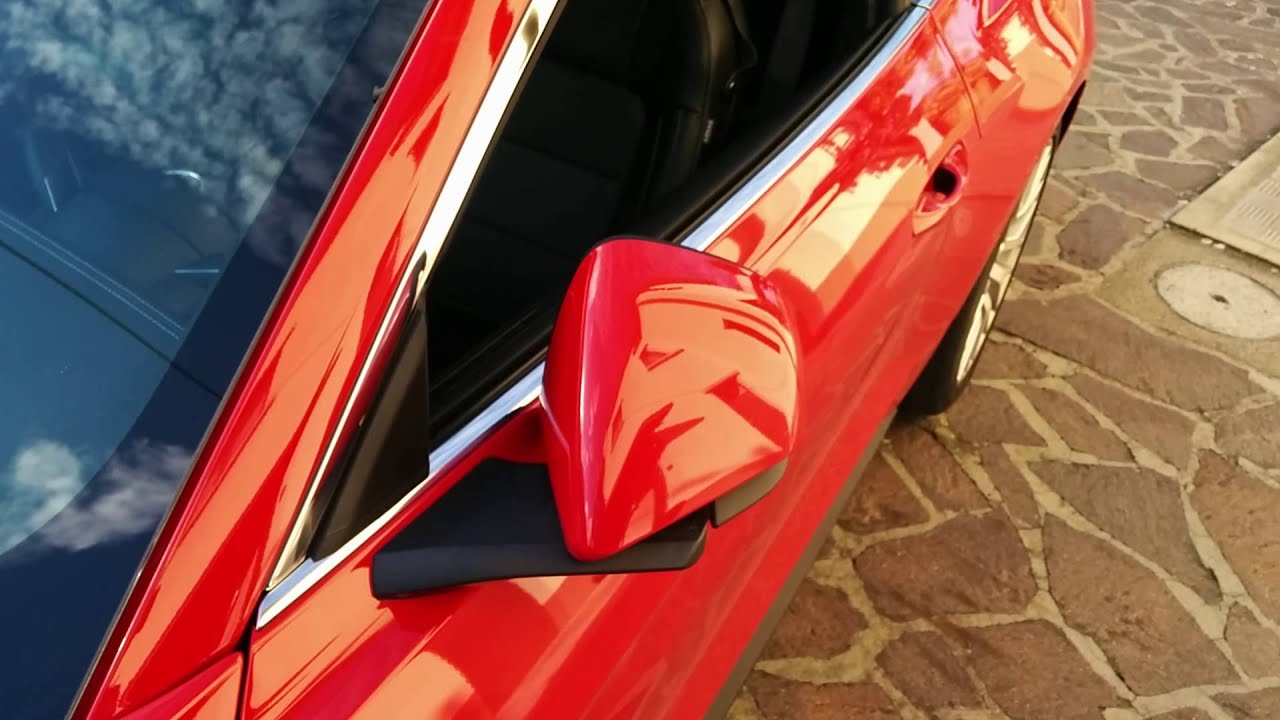 2015 Mustang - Electric folding wing mirrors (Euro model) - YouTube
