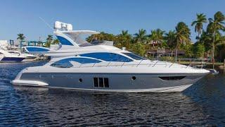 2016 Azimut 60 Flybridge Yacht For Sale at MarineMax Pompano Yacht Center