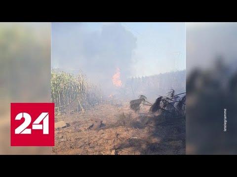 Бельгийский F-16 разбился на западе Франции - Россия 24