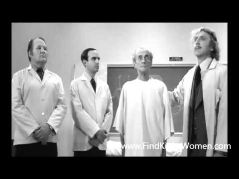 Young Frankenstein M/m ball busting scene demonstration