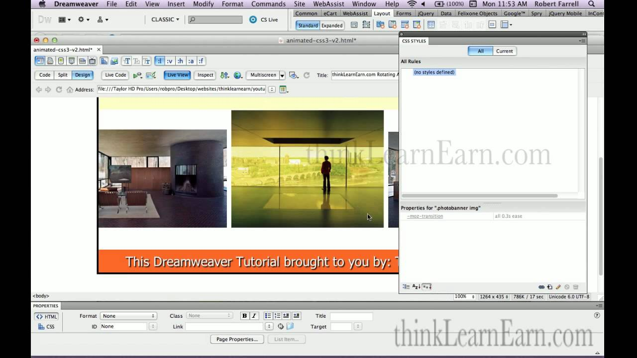 dreamweaver lessons Dreamweaver training and tutorials our dreamweaver video tutorials can help you learn dreamweaver from start to finish, from how to build a website for the first time to using jquery, php, and mysql to customize a website and build web apps.