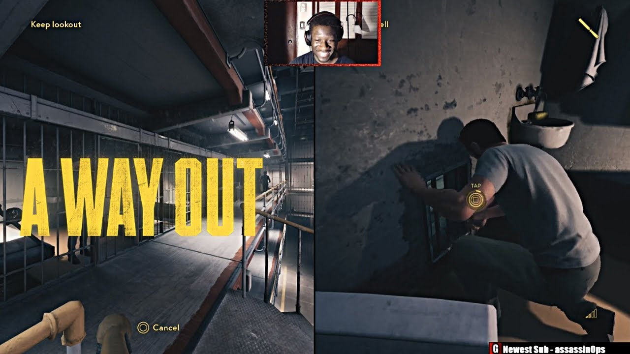 CANCEL CANCEL CANCEL DEATHPUNCH!!! | A Way Out Prison Gameplay