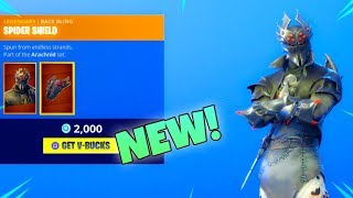 NEW! BLACK KNIGHT V2 SKIN!! *Spider Knight/Arachne* (New Item shop) Fortnite Battle Royale