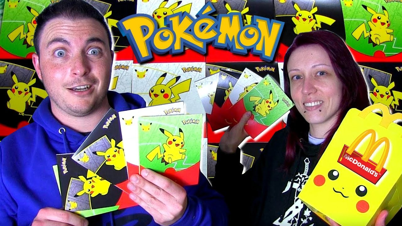 ON OUVRE 20 BOOSTERS POKEMON MCDONALD's 25 ANS !!!