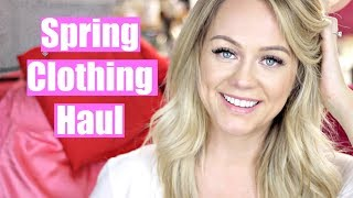 Spring Clothing Haul | Work Clothes + Fun Clothes + Shoes