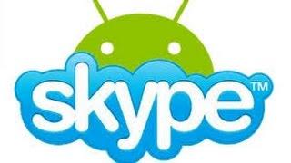 Como fazer chamadas em grupo no skype //android// (ATUALIZADO)(Skype android como fazer chamada lembrando que o codigo de chamada e(/golive) ..., 2015-11-23T00:39:28.000Z)