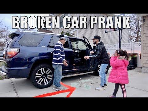 BROKEN CAR PRANK ON STRICT DAD!!!
