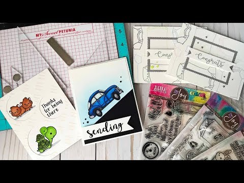 Creative Corners with MISTI and Joy Clair Stamps