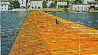 Christo's Latest Art Project Will Let You Walk on Water