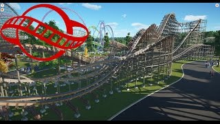 amarok planet coaster compact rmc steel topper wooden coaster