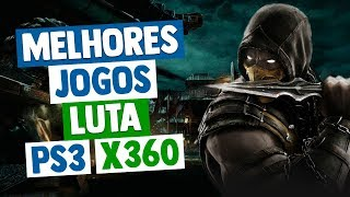 MELHORES JOGOS DE LUTA DO PS3 E XBOX 360