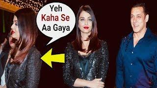 Aishwarya Rai Ignores Salman Khan At Subhash Ghai Birthday Party