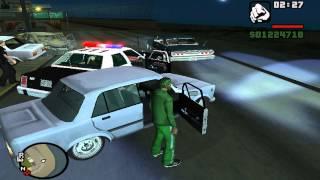 GTA San Andreas - Войны Районов как правильно ездить!!!