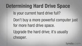 08 02 Determining hard drive size