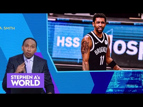 Stephen A. calls out Kyrie for dodging the media and wishes Chris Paul a happy birthday