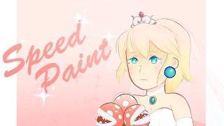 『Speed Paint』Super Mario Odyssey - Bride Princess Peach ☆
