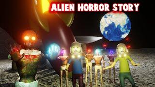 Alien Vs Gulli Bulli, Baba Horror Story || Animated Movies In Hindi || Horror Joke (Make)