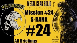 Metal Gear Solid: Peace Walker HD - Stealth Walkthrough - Mission #24 - S-RANK