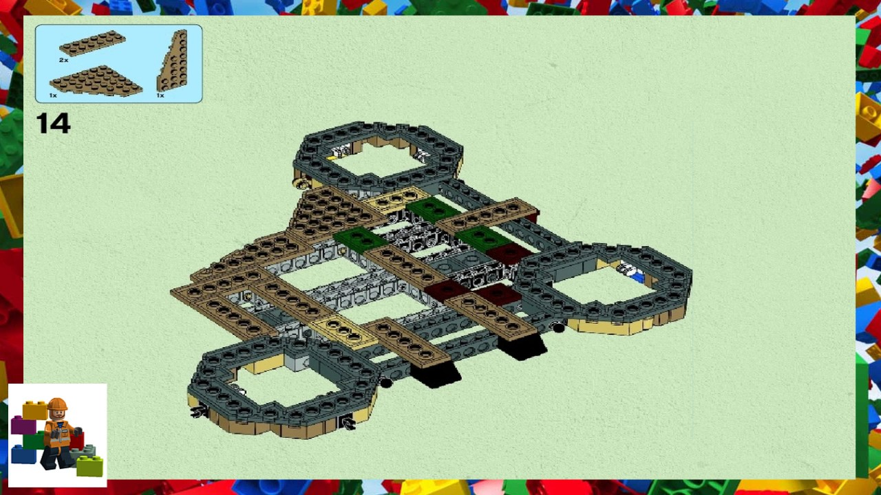 Lego Instructions Star Wars 10236 Ewok Village Book 2 Youtube