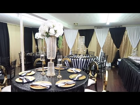EVENT PLANNER | GLAM BACKDROP, CENTERPIECES AND PARTY DECOR IDEAS