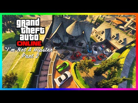 GTA Online I'm Not A Hipster DLC Update Part 2 - NEW Mansion Properties Found, Cars & Release Date!