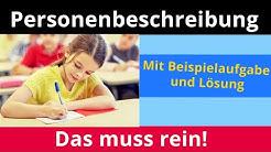 Personenbeschreibung: Das muss rein! – Deutsch | Duden Learnattack