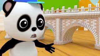 лондон мост | рифма мультфильмы | русские рифмы | London Bridge Is Falling Down | Bao Panda