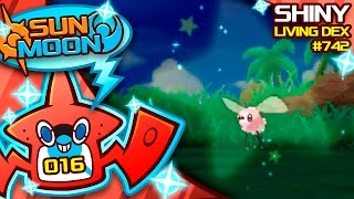 EPIC SHINY CUTIEFLY REACTION!! Quest For Shiny Living Dex #742 | Pokemon Sun and Moon Shiny #16