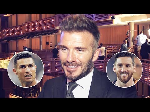 David Beckham Finally Reveals Who Is Better Out Of Cristiano Ronaldo And Lionel Messi | Oh My Goal