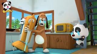 奇奇和機器狗的戰鬥,快來和奇奇一起打敗可怕的機器狗 | 兒歌 | 童謠 | 奇妙漢字動畫 | 卡通 | 寶寶巴士 | 奇奇 | 妙妙