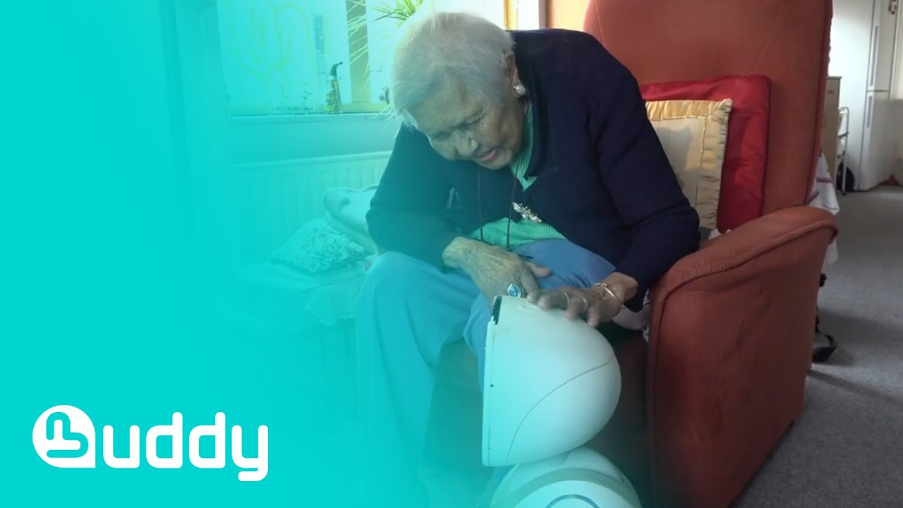 BUDDY, the Emotional Robot for elderly - Senior Interview for ACCRA Research Project in Netherlands