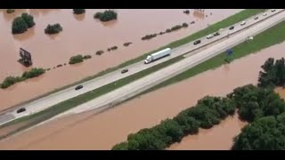 Aerial Video Of The Red River Flood From June 8th, 2015
