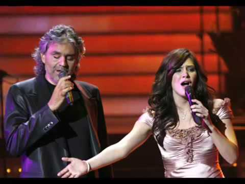 Katharine McPhee & Andrea Bocelli   Can't Help Falling In Love