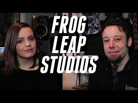 Working in Frog Leap Studios with Leo Moracchioli