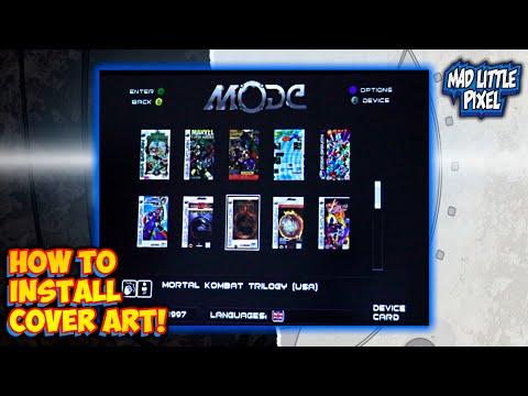 Terraonion MODE – How To Install Cover Art Database On Sega Saturn Or Dreamcast!