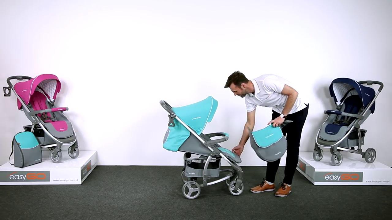 Детская коляска EasyGo OPTIMA от Detimport - YouTube