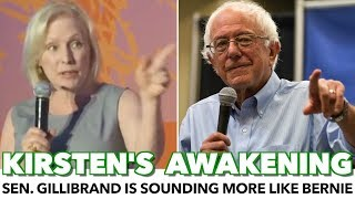 Kirsten Gillibrand Is Sounding More And More Like Bernie Sanders