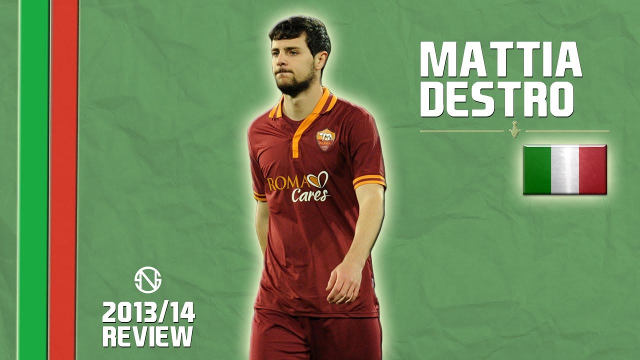 Mattia Destro Goals Skills Assists Roma 2013 2014 Hd Youtube