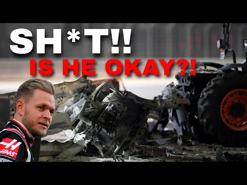 Kevin Magnussen LIVE team radio after Grosjean's HORROR CRASH | 2020 Bahrain GP