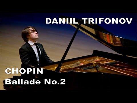Daniil Trifonov live 2009 -  CHOPIN, Ballade No.2 in F Major op.38
