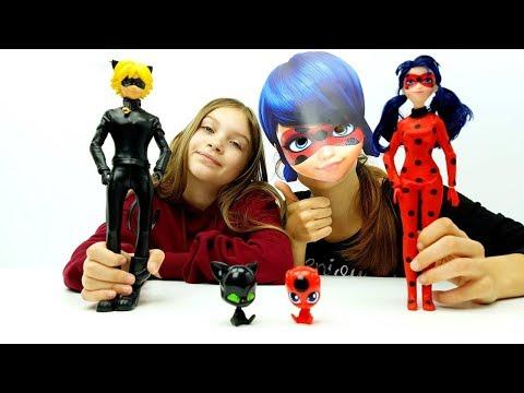 MIRACULOUS LE STORIE DI LADYBUG E CHAT NOIR - Giochi Per Bambine E Ragazze - Unboxing Bambole!