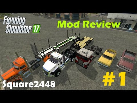 Farming Simulator Mod Review Semis Trucks Trailers