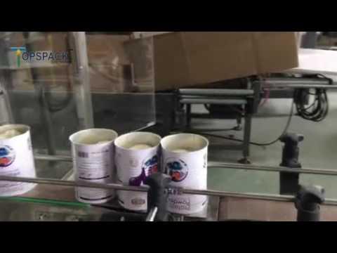 Bottle unscrambler +Automatic  auger filler+Cap pressing machine